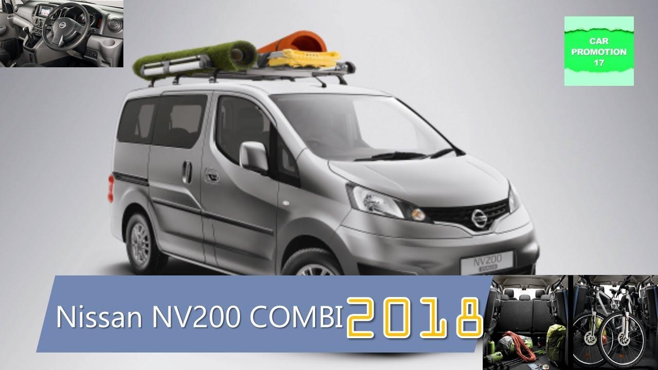 2018 Nissan NV200 COMBI New Exterior Interior  YouTube