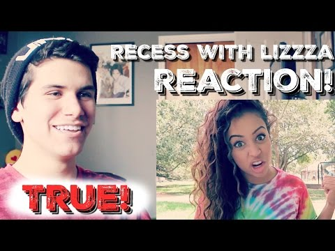 RECESS WITH LIZZZA - Reaction!