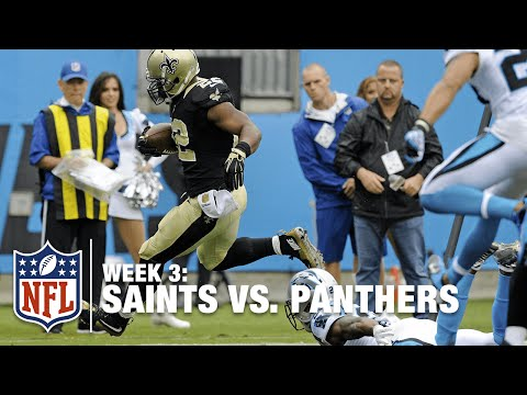 Mark Ingram Speeds to the Outside for a 5-Yard TD | Saints vs. Panthers | NFL
