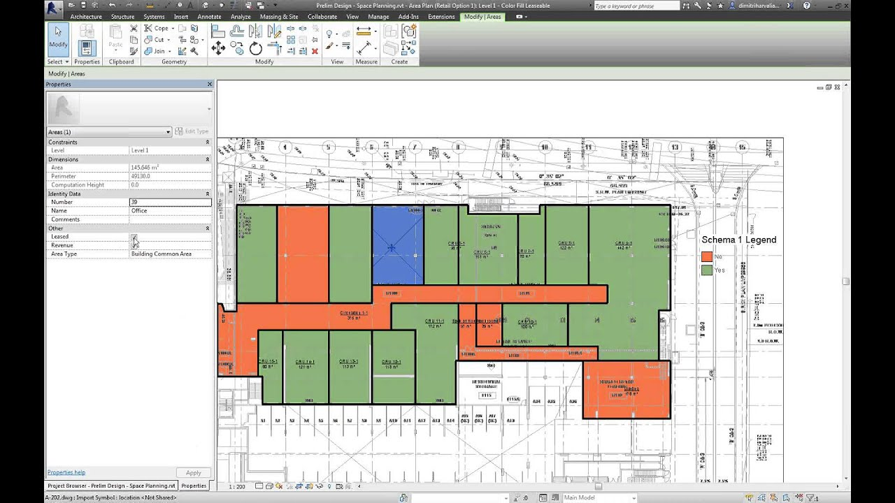 Leveraging revit for preliminary design youtube for Space planning software