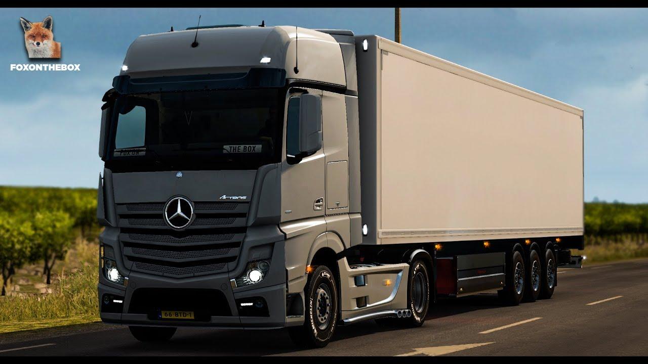 Ongebruikt Real Mercedes Actros MP4 Open Pipe Sound | Euro Truck Simulator 2 WB-99