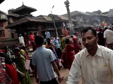 Nepali Hindu Festival in Bhaktapur, August 2007