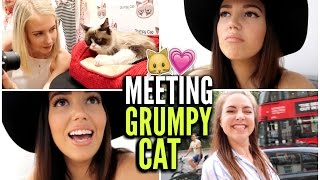 Meeting Grumpy Cat + A Lovely Day With Friends!