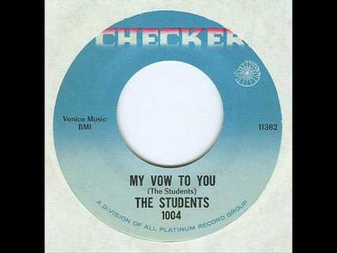STUDENTS - MY VOW TO YOU