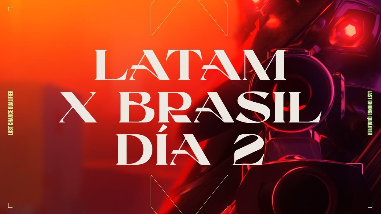 Download VALORANT Champions Tour- Last Chance Qualifier LATAMxBRASIL-Fase de Grupo Día 2