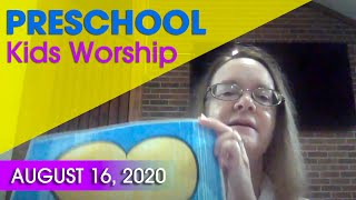 PreK worship | Aug 16 | SG Kids
