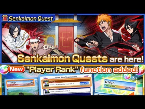 Bleach Brave Souls: Nova Atualização 7.0.0 ! Player Rank e Sekaimon Quests - Omega Play