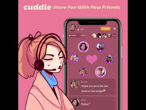 Cuddle - Best Group Voice Chat Room Broadcast & Live Voice Chat 👑🎼💦