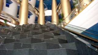 haus de entrada do burj al arab hotel luxuoso de dubai