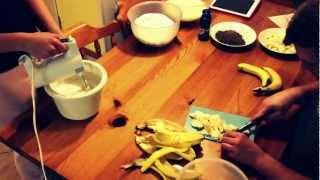 Banana Tiramisu - Time Lapse