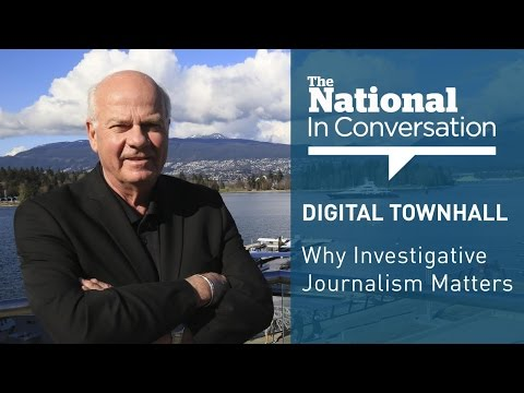 The National in Conversation: Why Investigative Journalism Matters