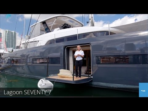 Lagoon SEVENTY 7: Quick Look Video