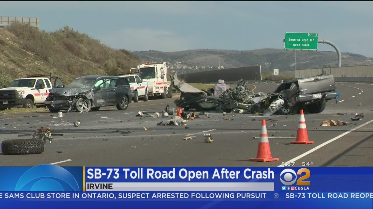 73 Toll Road Back Open After Deadly Crash