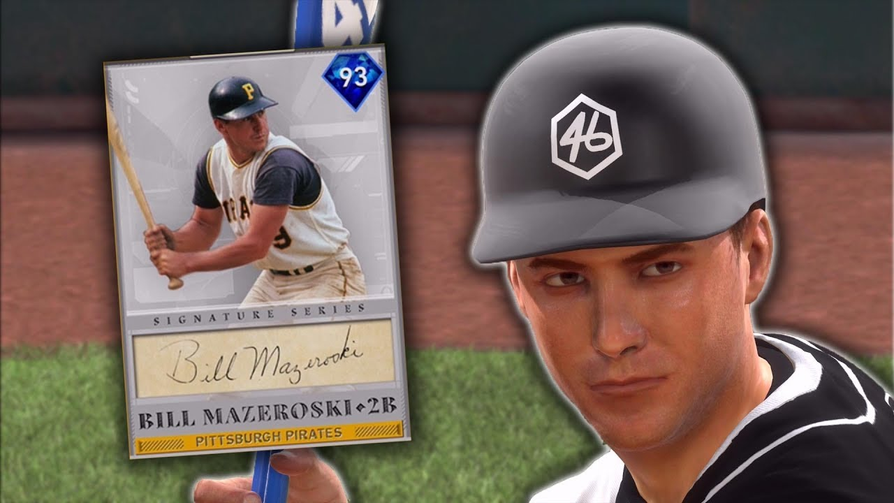 93 Bill Mazeroski Debut Signature Series Mlb The Show 19 Diamond Dynasty