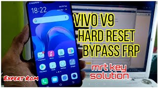 Vivo V9 (1723) Hard Reset Unlock Password/Pettern/Pin | FRP/Google Account Bypass By Mrt Dongle