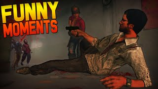 Black Ops 2 Zombies Funny Moments - The Abyss, Broken TV, Trample Steams