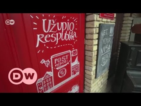 Uzupis: The world's smallest republic in the middle of Vilnius   DW English