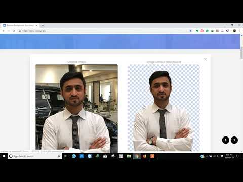 How To Change Background of Photo within a few seconds