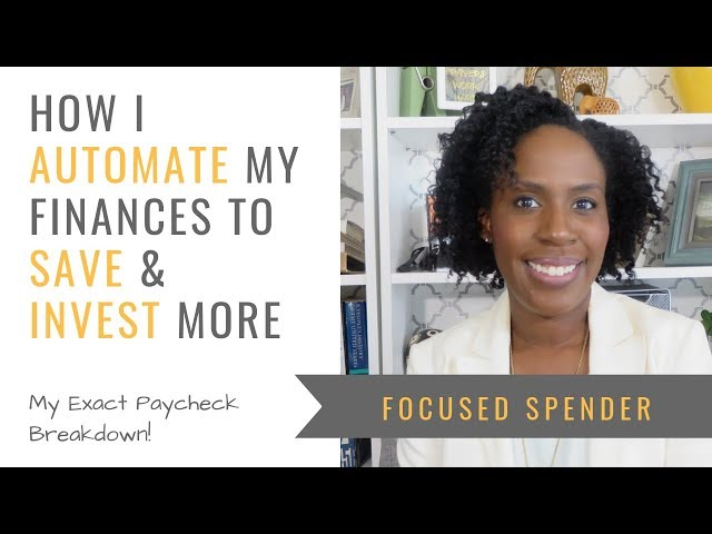 How I Automate my finances to save & invest more - MULTIPLE Bank Accounts