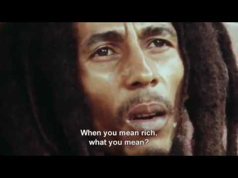 Bob Marley Money can't buy life Interview