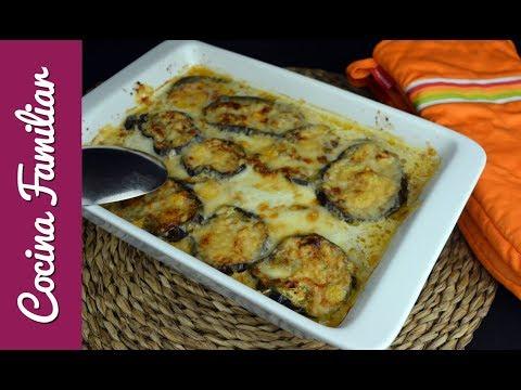 Como hacer berenjenas a la parmesana  Receta de Javier Romero