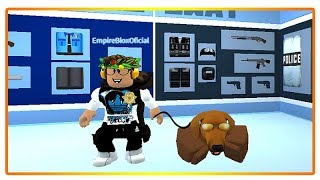 I AM A POLICE DOG ON JAILBREAK-ROBLOX