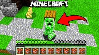 Minecraft: ZMIENIŁEM SIĘ W CREEPERA! | Jak Grać Creeperem?