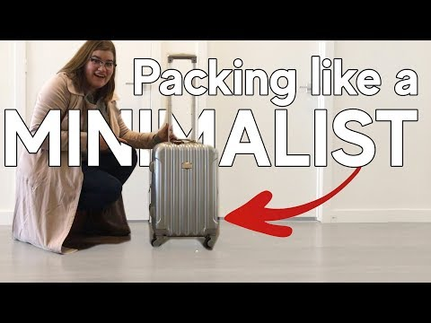 How To Pack For Strict Budget Airlines | Packing Like A Minimalist For International Travel
