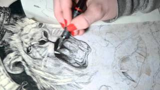 Simply The Best - speed drawing by Aga Osak