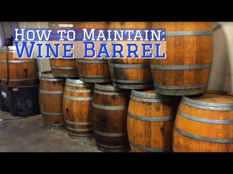 Wine barrel maintenance fix