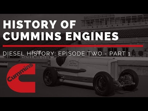 History Of Cummins Engines | Diesel History Episode Two - Part 1 (Pre-WWII)