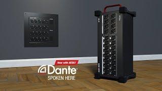 Allen & Heath Dante I/O Expanders