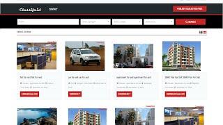 How To Make A Classified Website I Create A Website Like OLX