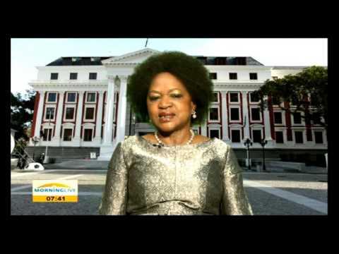 Baleka Mbete on receiving Martin Luther King Award
