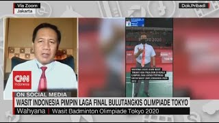 Wasit Indonesia Pimpin Laga Final Bulu Tangkis Olimpiade Tokyo
