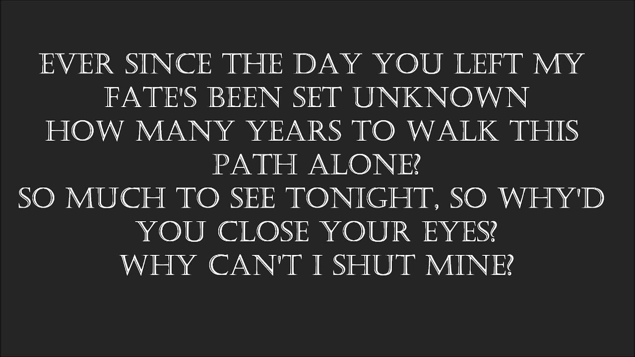 Avenged Sevenfold Song Lyrics | MetroLyrics