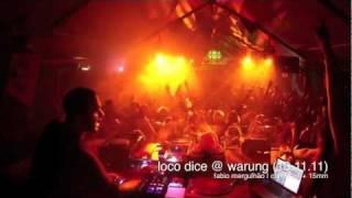 Loco Dice @ Warung (13.11.11) por Fabio Mergulhão