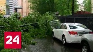 """Факты"": ураган в Москве"