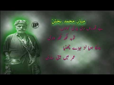 Parhne da Maan Na Karin kalam Mian Muhammad Baksh