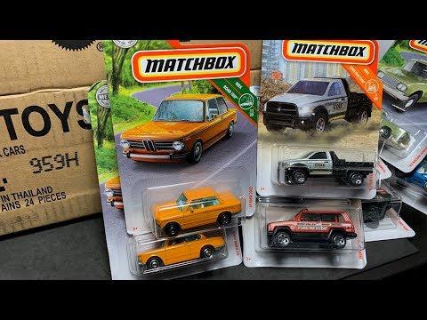 Lamley Unboxing: Matchbox 2019 A Case