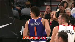Phoenix Suns vs Portland Trail Blazers | October 28, 2017 | NBA 2017-18 Season