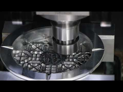 VMC machining for Chinese tradition letter