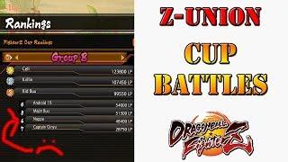 Dragon Ball FighterZ - FighterZ cup Union battles
