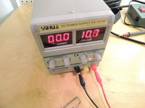 YIHUA PS-3010D LAB POWER SUPPLY REVIEW AND REPAIR