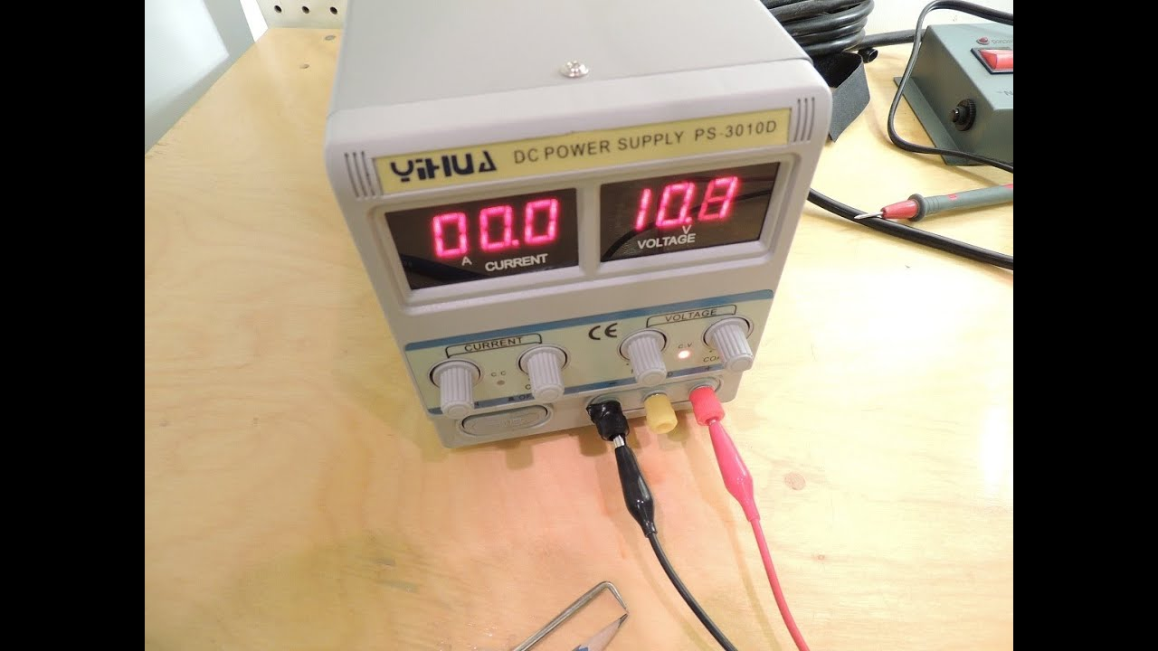 Yihua Ps 3010d Lab Power Supply Review And Repair Youtube Laboratory Variable Voltage From 0v To 50v