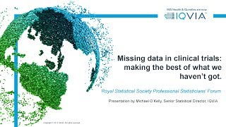 Missing data in clinical trials: making the best of what we haven't got