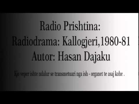 """HASAN DAJAKU  RADIO PRISHTINA """"Radio Drama""""  SHANI PALLASKA"""