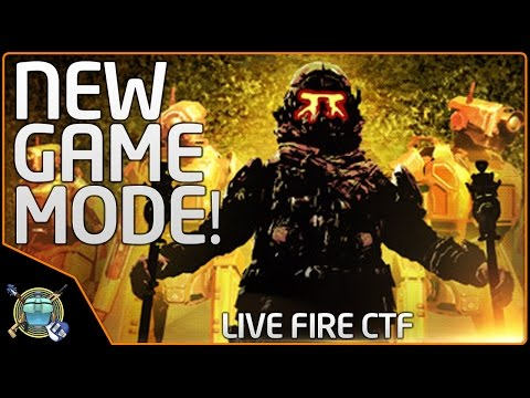 Titanfall 2 - NEW GAME MODE!  Live Fire CTF - 3 Raw Gameplays