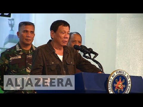 Philippine's Duterte welcomes Trump presidency