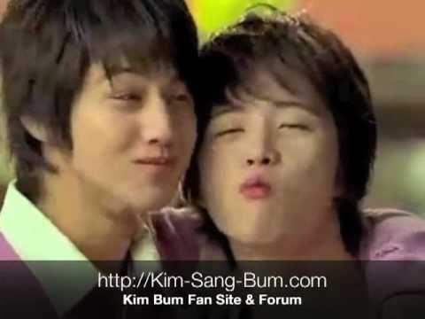 Kim Bum Crown Bake Pie CF with Kim Hye Sung